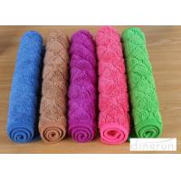 Custom Design Logo , Various Colored  Eco-friendly Microfiber Cleaning Towels 40*50cm