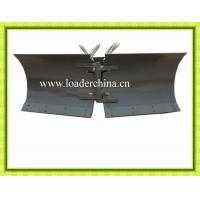 Wholesale V-snow blade for mini wheel loader from china suppliers
