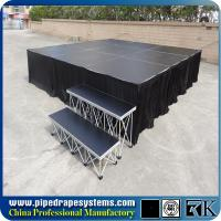 Quality Aluminum smart stage,portable stage, concert smart stage supplier for sale