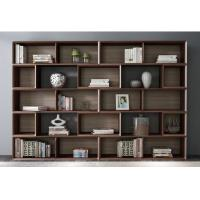 Wholesale Home Study room Office Furniture American Walnut Wood Combined Bookcase with Shelves by Classic Nordic design from china suppliers