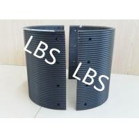 Wholesale Black Polymer Material Bolted Connection Winch Drum Sleeves from china suppliers