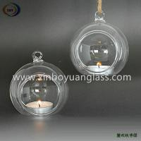 Wholesale Haning glass candle ball ornment candle holder from china suppliers