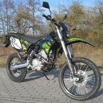 Shineray 12kw 4 Stroke 250cc Supermoto Dirt Bike Motorcycle 80km/H