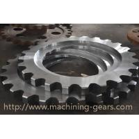 Wholesale Non - Standard Aluminum Motorcycle Chain Sprockets Industrial Machinery Parts from china suppliers