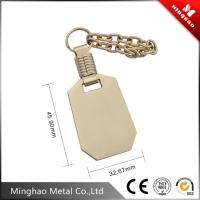 zinc alloy bag accessories metal chain,45.9*32.67mm handbag metal lable accessories