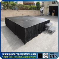 Aluminum smart stage,portable stage, concert smart stage supplier