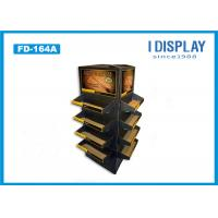 Wholesale Recyclable Cardboard Pallet Display , Foaming Cleanser Cardboard Product Display Stands from china suppliers