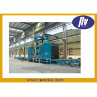 Buy cheap Conveyor Sand Blast Machine Professional Sandblaster For Steel Plate / Profile Steel from wholesalers