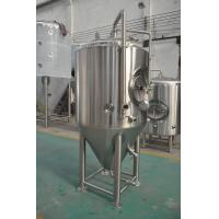 Wholesale Jacketed Stainless Steel Beer Fermenter , Micro Brewery Equipment For Beer Fermenting from china suppliers
