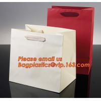 Wholesale Luxury shopping paper bag, different types design custom paper shopping bag from china suppliers