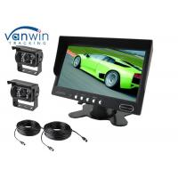 Wholesale Quad 7inch Rack Mount  LCD Monitor , Car Video Monitors for Rear View Monitoring from china suppliers