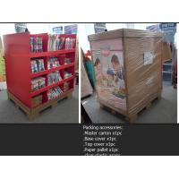 Buy cheap Full size standard assemble Cardboard Pallet Display for Kitchwares from wholesalers