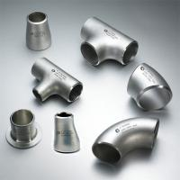 Wholesale 304 / 309 / 316 / 317 / 321 / 347 / 904L grade Stainless Steel Butt Weld Fittings from china suppliers