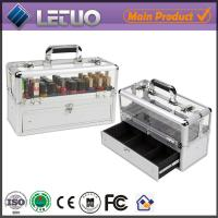 Wholesale nail artist cosmetic case travel cosmetic bags and cases aluminum beauty case from china suppliers