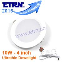 Wholesale ETRN Ultrathin 4Inch 2835 SMD Led downlight Lampada Panel 10W Recessed Round Ceiling Light from china suppliers