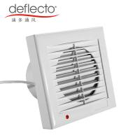 Wholesale Deflecto Bathroom Ventilation Fan Louvered Roof 5 Inch 120mm Extractor Fan from china suppliers