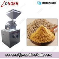 Wholesale Cumin Seed Grinding Machine Coriander Turmeric Powder Making Equipment Stainless Steel from china suppliers