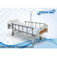 Wholesale Mobile Handicapped Electric Hospital Bed With Remote Handset Control from china suppliers
