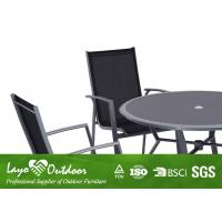 Quality Home Outdoor Furniture 5 PCS Alum Dining Table Sets For Garden UV Protection for sale