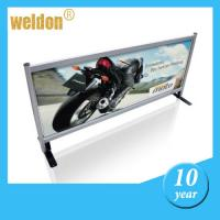 Wholesale Metal frame cafe windbreak breeze barrier for outdoor or indoor advertisement from china suppliers