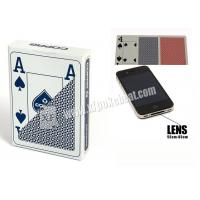 Wholesale Blue Jumbo 4 Index Copag Plastic Playing Cards For Poker Predictor from china suppliers