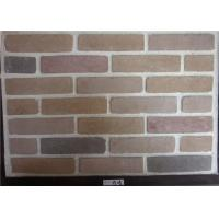 Wholesale Wide Faux Stone Veneer , Exterior Faux Brick Wall Panels Cement Material from china suppliers