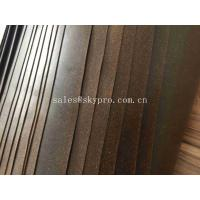 Quality Gasket Materials Cork Rubber Sheet Roll ROHS Durable Rubber Sealing Gaskets for sale