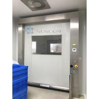 Wholesale Modern Workhouse High Speed Roll Up Door Aluminum Frame Work On Machine from china suppliers