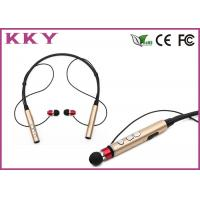 Wholesale Bluetooth 4.2 Behind The Neck Headphones With 120mAh Rechargeable Lithium Polymer Cell from china suppliers