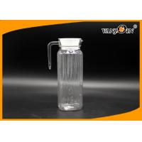 Wholesale BPA free 1.2L Acrlic Ice Tea water jug plastic / 1200ml Water Pitcher from china suppliers