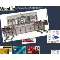 Wholesale 4 cylinder pvc card lamination machine , Twinstack Laminator smart card personalization machine from china suppliers