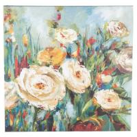 "Wholesale Square 27""x27"" Wall Hanging Wooden Hand Painted Canvas In Colorful Finishing from china suppliers"