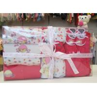 Wholesale Custom Eco - printing Organic Cotton Baptism Gift Sets For New Born Baby ODM from china suppliers