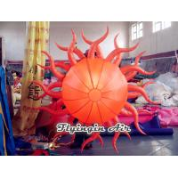 Buy cheap Decorative LED Inflatable Sun for Party, Club and Event Supplies from wholesalers