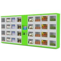 Wholesale Street / College / Airport Automated Refrigerator Food Locker Vending Machines With Different Size Doors from china suppliers