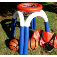 Wholesale Floating Inflatable Sports Arena Popular Inflatable Water Basketball Hoop from china suppliers
