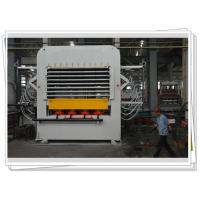 Wholesale Multi layer Melamine Veneer Hot Press Machine Laminates With Dual Cycle from china suppliers