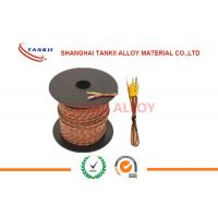 Wholesale Thermocouple Cable with insulation of  Ceramic Fiber , High Temp Fiberglass 800 Deg C 1200 Deg C from china suppliers