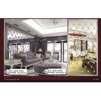 Wholesale Crystal Mosaic Tiles , Rectangular Glass Mirror Mosaic Tiles from china suppliers