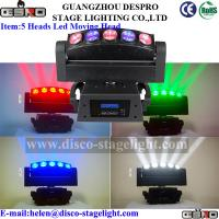 Wholesale RGBW 50W Moving Head Stage Light Special Stage Effects LED Beam Light from china suppliers