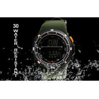 Wholesale Negative Display Military Alarm Digital Watch With Japanese Batteries from china suppliers