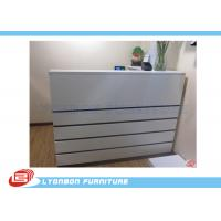 Wholesale Melamine Finished MDF Shop Cash Counter White / 2000mm * 1500mm * 1100mm from china suppliers