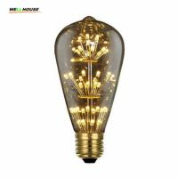 Buy cheap Edison Bulb Retro LED dimmable Lamp E27 110-220V 3W Star Droplight Coffee Bed Room Creative Light Bulbs Party Decoration from wholesalers