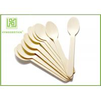 Wholesale Food-grade FSC FDA Small Disposable Dessert Spoon from china suppliers