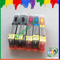 Wholesale 5 color inkjet printer cartridge for Canon MX923 with chip BCI320 BCI321 from china suppliers