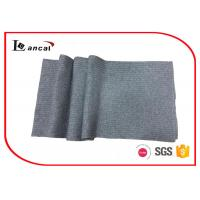 Wholesale 100% Lambswool Yarn Crochet Infinity Knitting Patterns Scarf Grey Crochet Ruffle Scarf from china suppliers