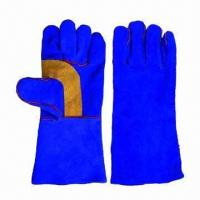 Wholesale Leather Welding Working Gloves, Used for Construction Purposes  from china suppliers