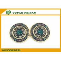 Wholesale Good Luck Four Leaf Clover Metal Poker Chips Game Deluxe Poker Chips from china suppliers