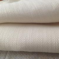 Wholesale 100 Percent Hemp Fabric Production , Pants Jackets Herringbone Hemp Textiles 360GSM from china suppliers