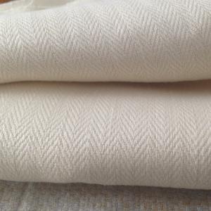 Wholesale 100 Percent Hemp Fabric Production , Pants Jackets Herringbone Hemp Textiles 360GSM from china suppliers